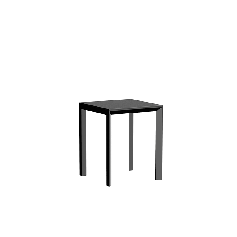 FRAME ALUMINIUM TABLE  60x60x74