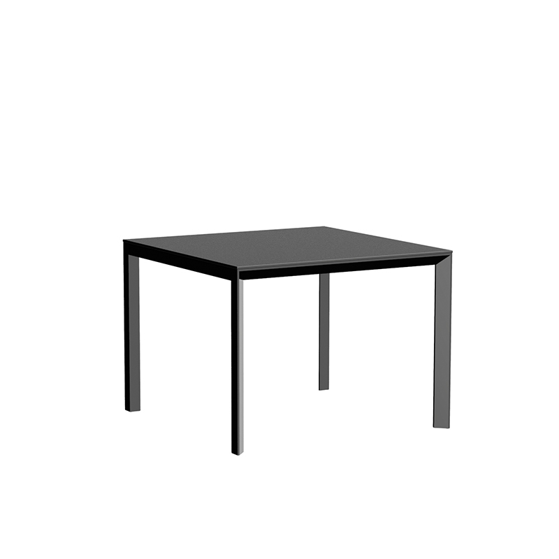 FRAME ALUMINIUM TABLE 100x100x74