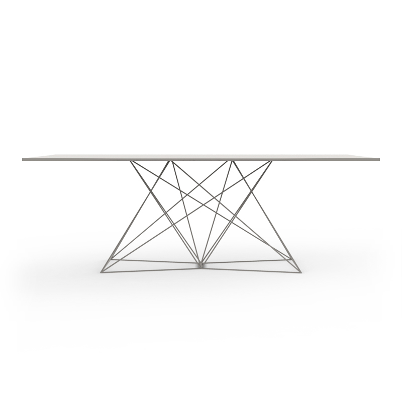 FAZ TABLE STAINLESS 200x100x72
