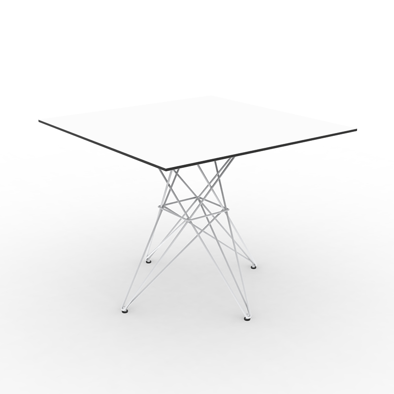 FAZ TABLE STAINLESS BASE 100x100x72